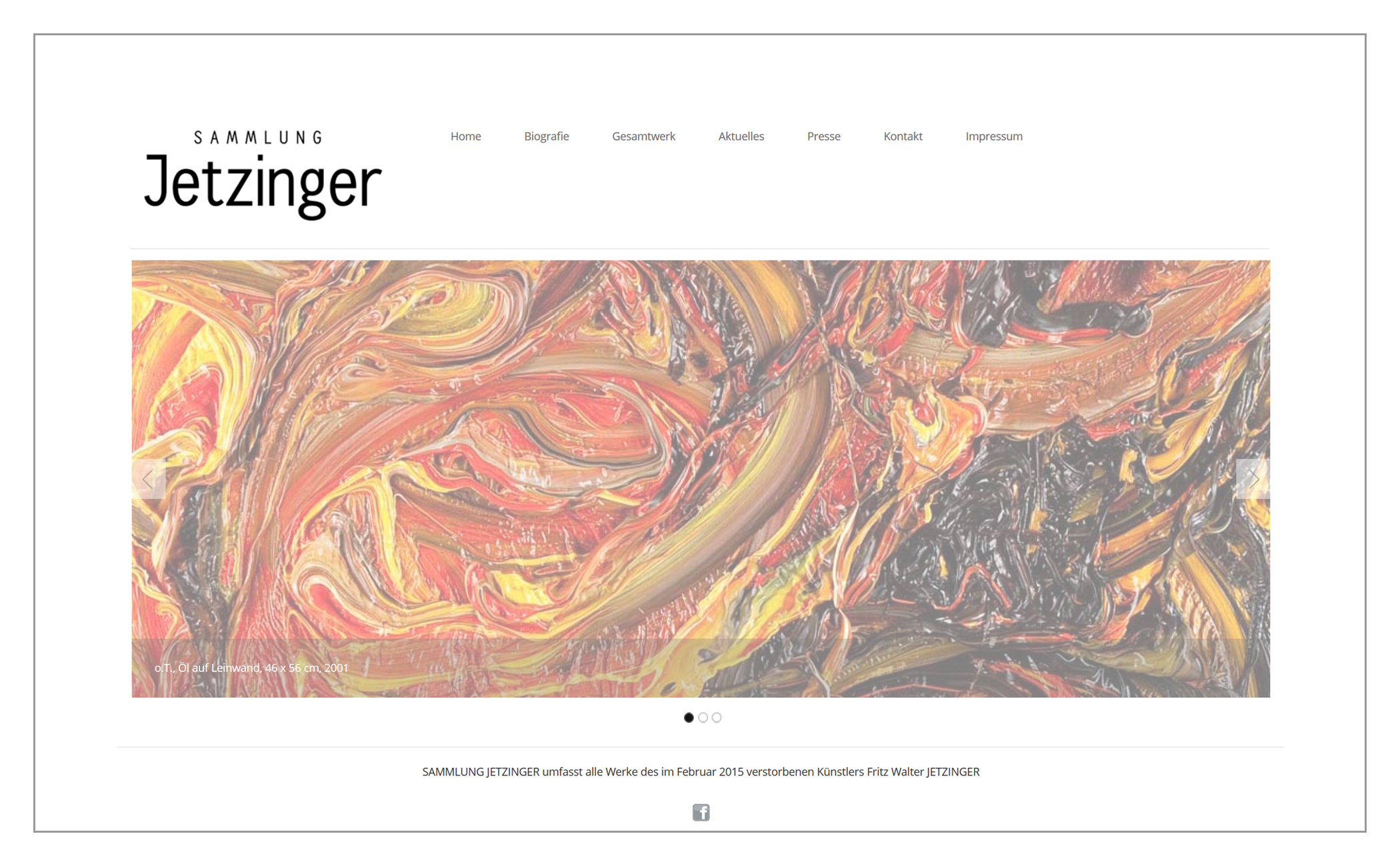 Website Sammlung Jetzinger