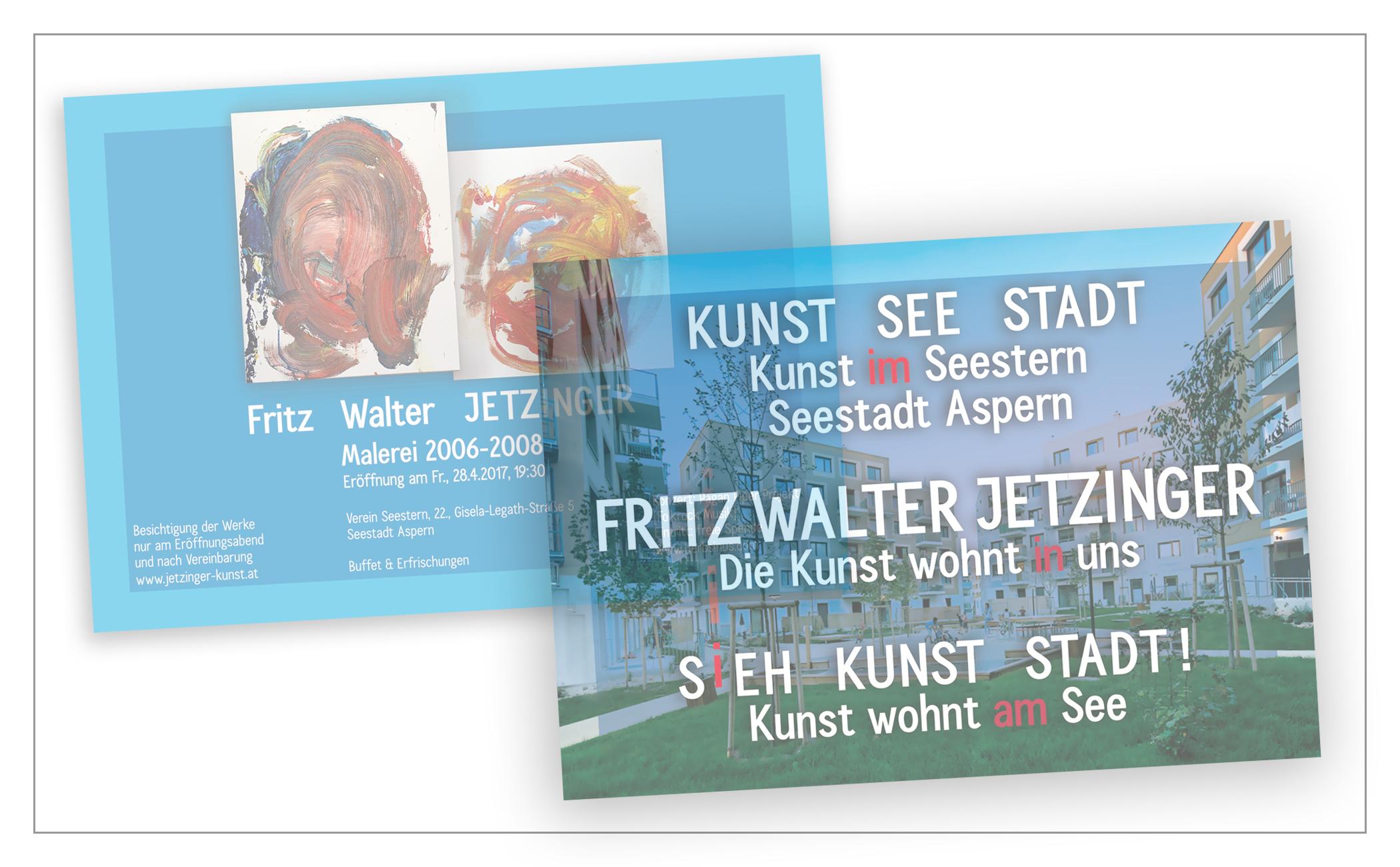 Einladungskarte Jetzinger