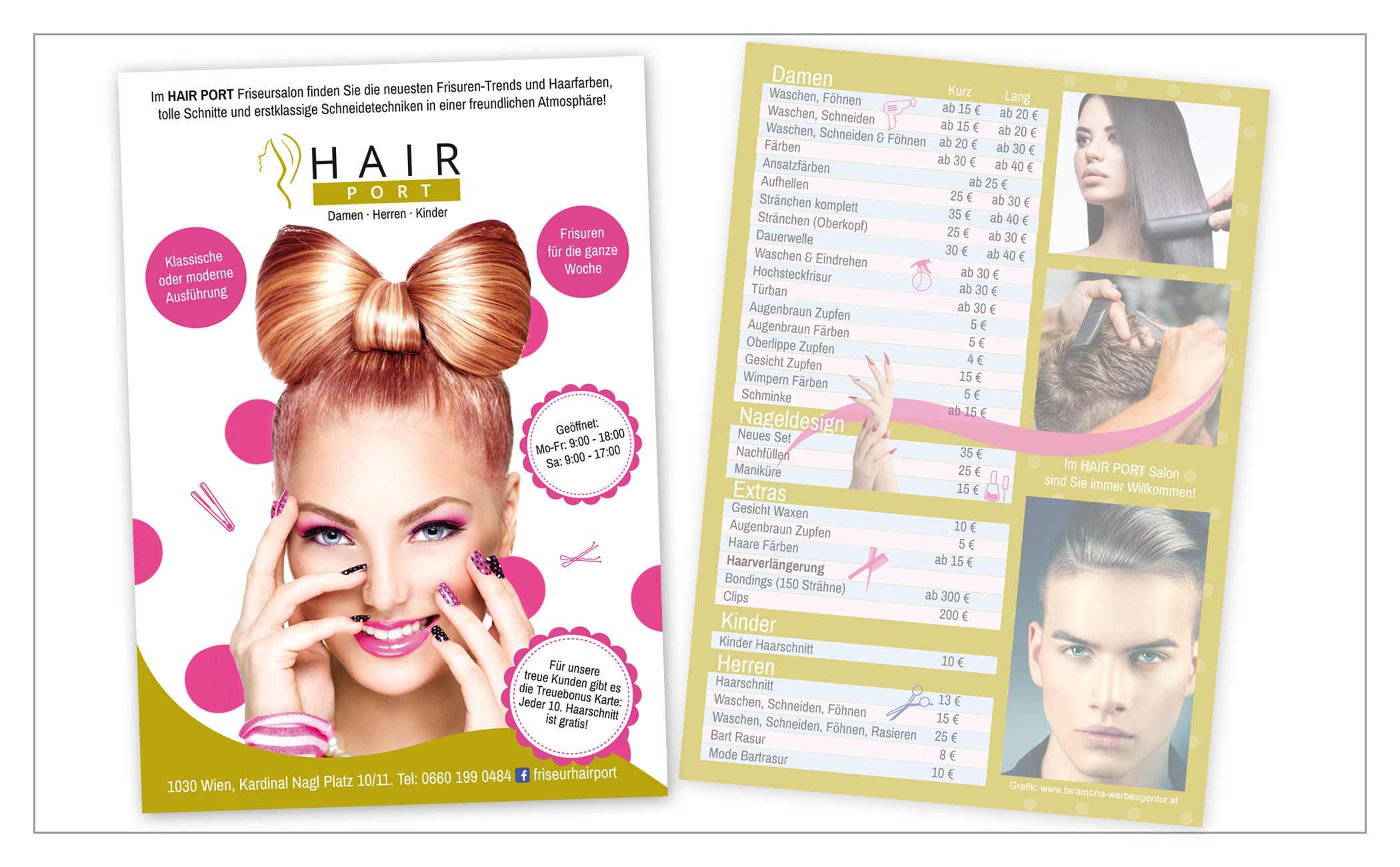Flyer HairPORT