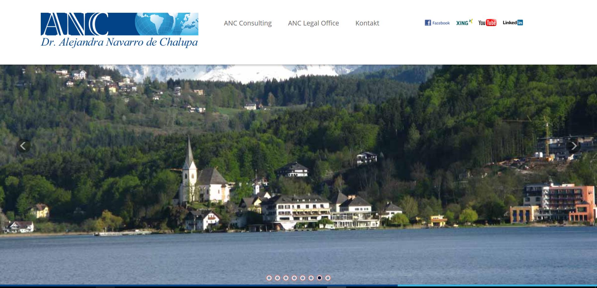 Website ANC Austria